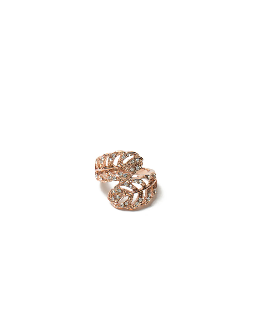 Leaf Wrap Ring - Medium