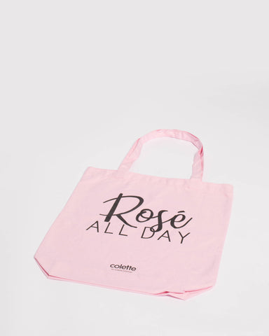 Pink Rose All Day Tote Bag
