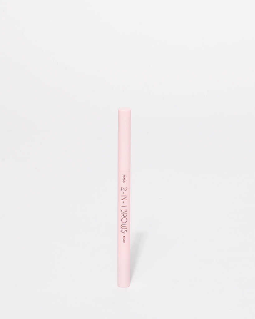 Brown Eyebrow Pencil Brush Duo