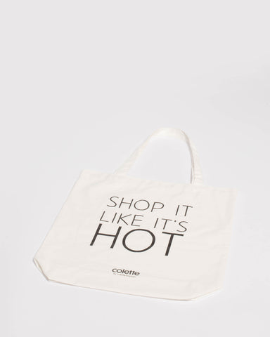 Ivory Shop It  Tote Bag