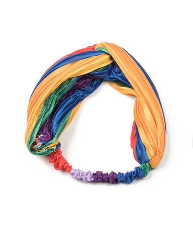 Multi Colour Rainbow Headband