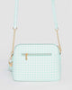 Colette by Colette Hayman Aqua Karen Crossbody Bag