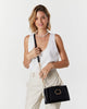 Colette by Colette Hayman Black Avalee Ring Crossbody Bag