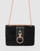 Colette by Colette Hayman Black Birdie Ring Bag