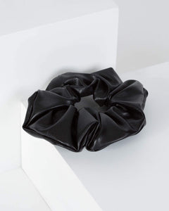 Colette by Colette Hayman Black Bold Scrunchie