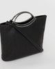 Colette by Colette Hayman Black Jessie Design Clutch Bag