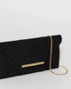 Colette by Colette Hayman Black Lois Clutch Bag