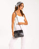 Colette by Colette Hayman Black Rachel Buckle Crossbody Bag