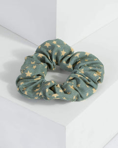 Colette by Colette Hayman Blue Star Scrunchie