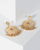 Colette by Colette Hayman Gold Beaded Circle Drop Earrings