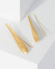Colette by Colette Hayman Gold Solid Teardrop Drop Earrings