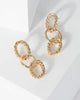 Colette by Colette Hayman Gold Twist Chain Drop Earrings