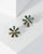 Colette by Colette Hayman Green Crystal Flower Stud Earrings