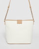 Colette by Colette Hayman Ivory Camilla Medium Crossbody Bag