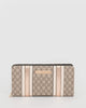 Colette by Colette Hayman Monogram Tia Panel Wallet