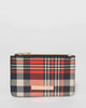 Colette by Colette Hayman Navy & Red Check Kris Purse