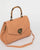 Colette by Colette Hayman Orange Sally Lion Quilt Tote Bag