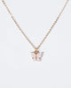 Colette by Colette Hayman Pink Butterfly Acrylic Necklace