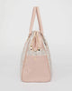 Colette by Colette Hayman Pink Check Lisa Weekender Travel Bag