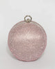 Colette by Colette Hayman Pink Miley Round Clutch Bag