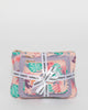 Colette by Colette Hayman Pink Tropical Print Purse Gift Set