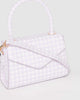 Colette by Colette Hayman Purple Kiki Envelope Mini Bag