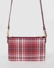 Colette by Colette Hayman Red Peta Strap Cross Body Bag