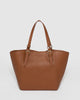 Colette by Colette Hayman Tan Donna Slouch Tote Bag