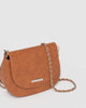 Colette by Colette Hayman Tan Sadie Saddle Bag