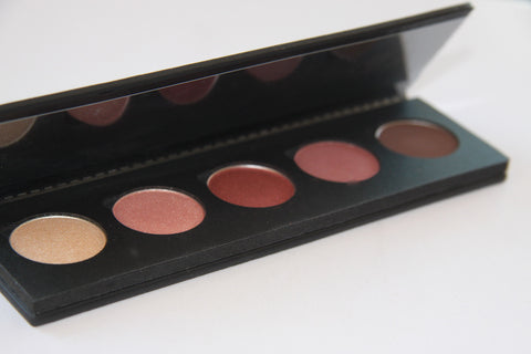 Warm eyes palette
