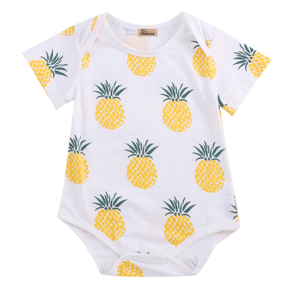 Summer Pineapple Romper