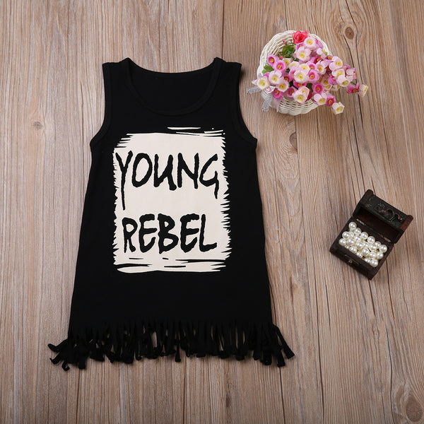 Summer Young Rebel T-Shirt Dress