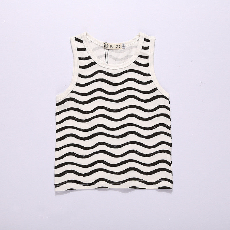 Cool Funky Striped Tank
