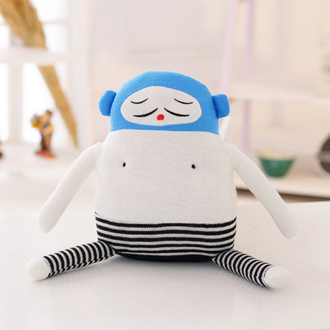 Sweetie Spaceship Knitting Wool Doll