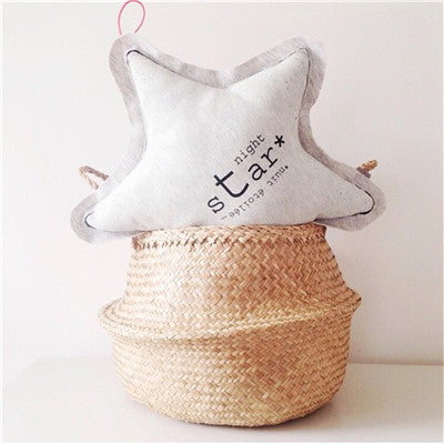 Glow In The Dark  Star Pillow