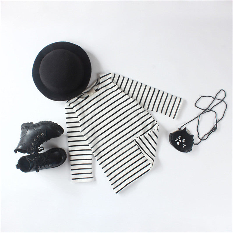 Girly Striped Dress