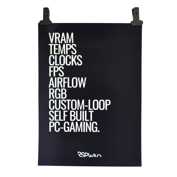 RSPWND Gamer Poster PC Gaming