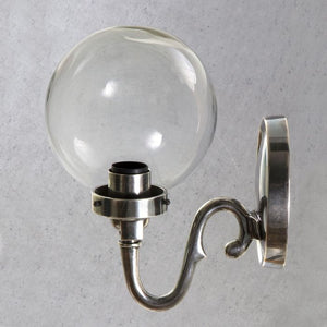Tuscany Wall Lamp Antique Silver