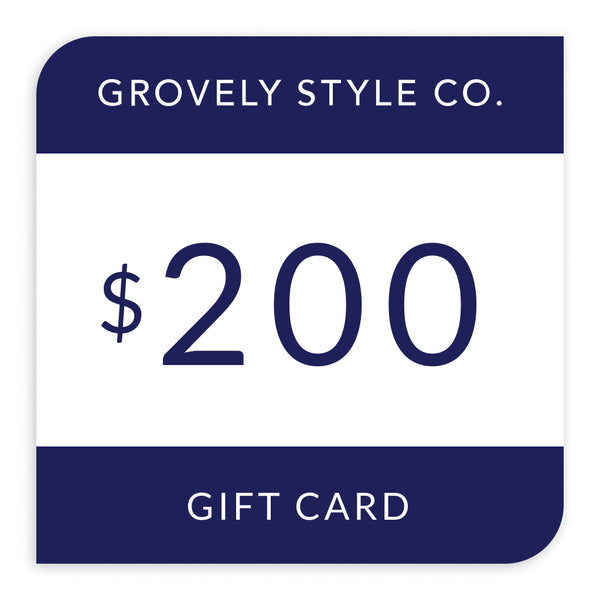 $200 Grovely Style Co Gift Card