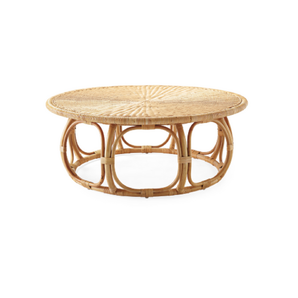 Pacific Woven Round Coffee Table