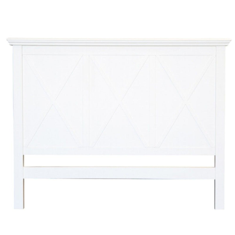 Sorrento White Bedhead Queen Size