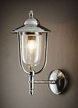 Royal London Wall Lamp Antique Silver