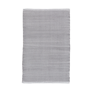 Herringbone Shale Indoor/Outdoor Cotton Rug