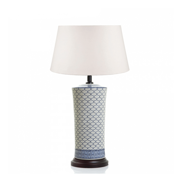 Imperial Table Lamp Base Blue and White