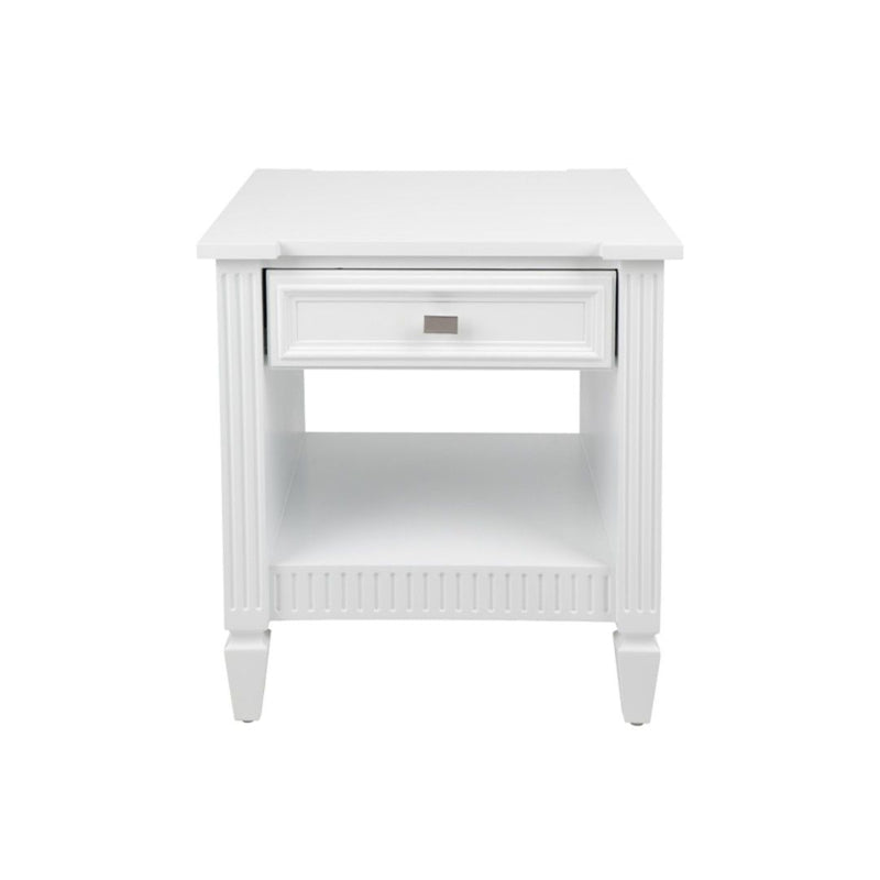 Merci Side Table - White