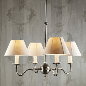 Milton 4 Arm Chandelier Base