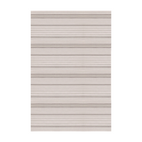 Rugby Stripe Platinum Indoor/Outdoor Rug