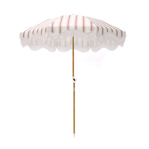 French Stripe Beach Umbrella