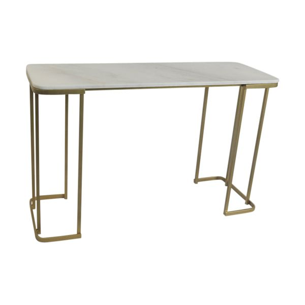 Ant Brass and Marble 160cm Console