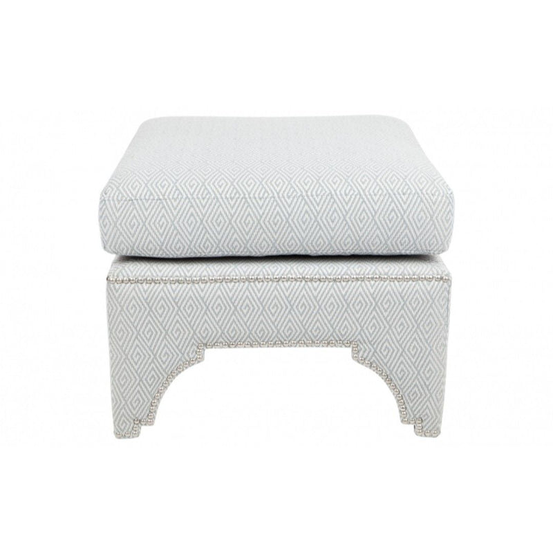 Jewel Stool - Diamond Duck Egg Blue